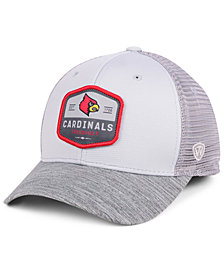 Top of the World Louisville Cardinals Hyjak Mesh Flex Stretch Fitted Cap