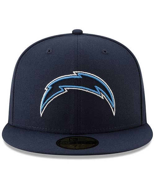 62a1a96a656 ... New Era Los Angeles Chargers Logo Elements Collection 59FIFTY FITTED  Cap ...