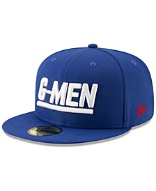 New York Giants Logo Elements Collection 59FIFTY FITTED Cap