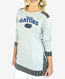 Women's Florida Gators Striped Panel Long Sleeve T-Shirt