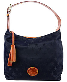 Dooney & Bourke Dallas Cowboys Embossed Nylon Paige Sac