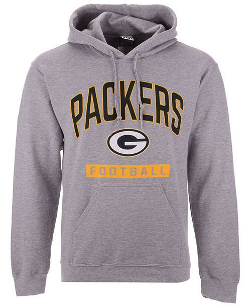 Authentic NFL Apparel Men's Green Bay Packers Gym Class Hoodie