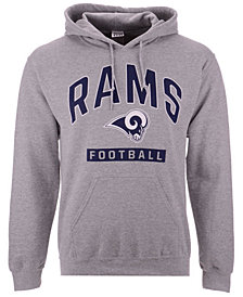 Authentic NFL Apparel Men's Los Angeles Rams Gym Class Hoodie