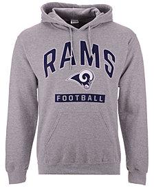 Authentic NFL Apparel Men's Los Angeles Rams Gym Class Hoodie