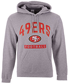 Authentic NFL Apparel Men's San Francisco 49ers Gym Class Hoodie