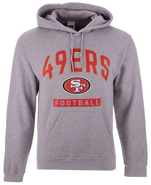 c81ad8d0e ... Authentic NFL Apparel Men s San Francisco 49ers Gym Class Hoodie ...