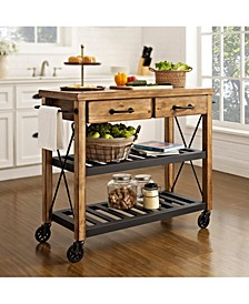 Roots Rack Industrial Kitchen Cart