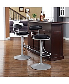 Jasper Swivel Counter Stool With Cushion