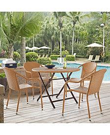 Palm Harbor 5 Piece Cafe Dining Set