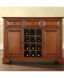 Lafayette Buffet Server Sideboard Cabinet With Wine Storage