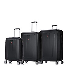 Crypto 3-Pc. Lightweight Hardside Luggage Set