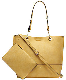 Calvin Klein Sonoma Reversible Novelty Tote with Pouch