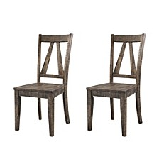 Flynn Wooden Side Chair Set