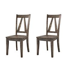 Flynn Wooden Side Chair Set