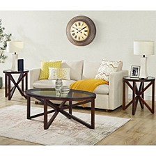 Trinity 3 Piece Occasional Table Set