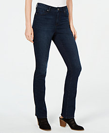 Style & Co High-Rise Baby Bootleg Jeans, Created for Macy's