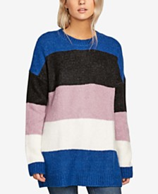Volcom Juniors' Fuzz Buster Colorblocked Sweater