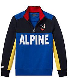 Polo Ralph Lauren Big Boys Downhill Skier Tech Pullover