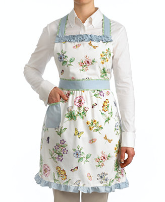 Lenox Butterfly Meadow Apron Table Linens Dining
