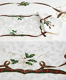 Set of 4 Holiday Nouveau Napkins