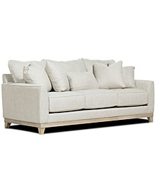 "CLOSEOUT! Brackley 94"" Fabric Sofa, Created for Macy's"