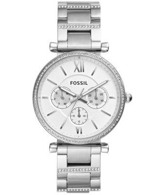 Women's Carlie Stainless Steel Bracelet Watch 38mm