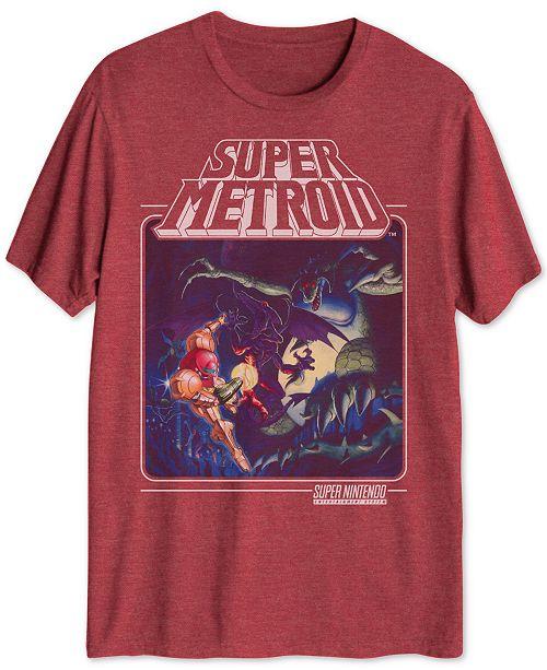 Hybrid Super Metroid Men's Graphic T-Shirt