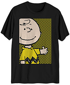 Halftone Charlie Brown Graphic T-Shirt