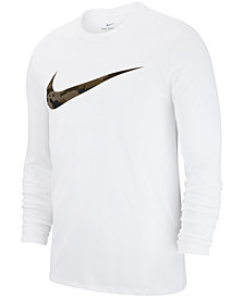 Nike Men's Dry Printed-Logo T-Shirt