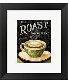 Todays Coffee III by Lisa Audit Framed Art