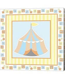 Baby Big Top X Blue by ND Art & Design Canvas Art