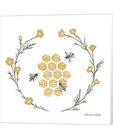 Happy To Bee H III By Sara Zieve Miller Canvas Art