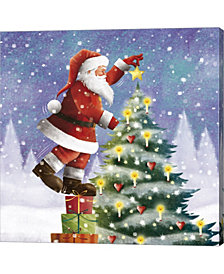 One Christmas Star F by DBK-Art Licensing Canvas Art