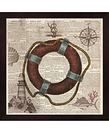 Nautical Collectio3 by Drako Fontaine Framed Art