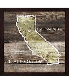 California Rustic Ma by PI Galerie Framed Art