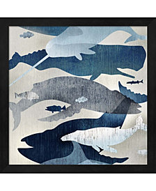 Whale Watching I By Edward Selkirk Framed Art