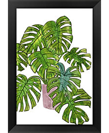 Potted Jungle I by Melissa Wang Framed Art