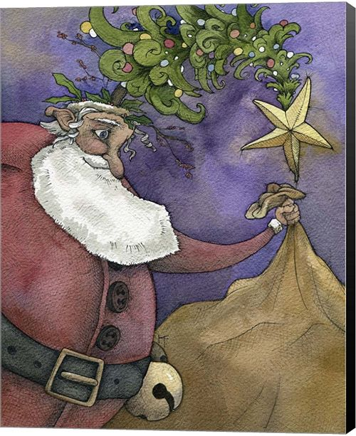 Metaverse Santa III By Kory Fluckiger Canvas Art