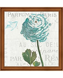 Floral Messages On 2 By Sue Schlabach Framed Art