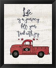 Life is a Journey by Jo Moulton Framed Art