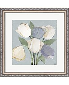 French Tulips II By Jade Reynolds Framed Art