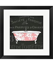 Chalkboard Bath II by Sue Schlabach Framed Art