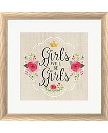Girls Will Be Girls by Tammy Apple Framed Art
