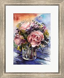 Floral Arrangement by Sophia Rodionov Framed Art