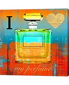 I Love My Perfume By Michelle Clair Canvas Art