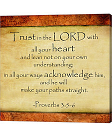 Trust In The Lord Canvas Art