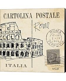 Postcard Sketches IV By Anne Tavoletti Canvas Art