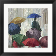 Downpour by Posters International Studio Framed Art