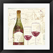 Chateau Winery II by Katie Pertiet Framed Art
