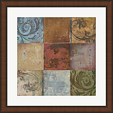 Moroccan Patch Ii By Patricia Pinto Framed Art